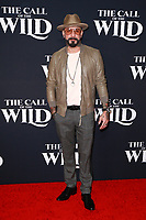 HOLLYWOOD, CA - FEBRUARY 13; AJ McLean at The Call Of The Wild World Premiere on February 13, 2020 at El Capitan Theater in Hollywood, California. Credit: Tony Forte/MediaPunch