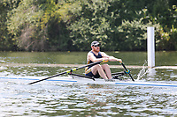 Race: 70  MasB.1x  Quarter-Final<br /> 1  Leicester Rowing Club (Smith)<br /> 5  Durham Amateur Rowing Club (Muse)<br /> <br /> Henley Masters Regatta 2018 - Friday<br /> <br /> To purchase this photo, or to see pricing information for Prints and Downloads, click the blue 'Add to Cart' button at the top-right of the page.