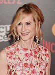 HOLLYWOOD, CA - JUNE 05: Holly Hunter attends the premiere of Disney and Pixar's 'Incredibles 2' at the El Capitan Theatre on June 5, 2018 in Los Angeles, California.