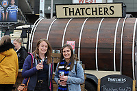 Thatchers. Gallagher Premiership match, The Clash, between Bath Rugby and Bristol Rugby on April 6, 2019 at Twickenham Stadium in London, England. Photo by: Andrew Fosker for Onside Images