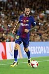 Supercopa de Espa&ntilde;a - Ida.<br /> FC Barcelona vs R. Madrid: 1-3.<br /> Aleix Vidal.