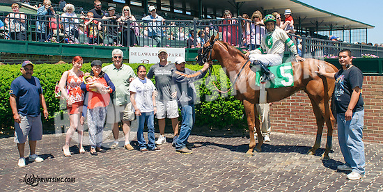 Pro Prospect winning at Delaware Park on 5/23/15