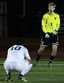 Walled Lake Central defeats Troy in an overtime shootout 4-3 during Division 1 state semifinal soccer action at Troy High School Wednesday, Nov. 1, 2017. (For The Oakland Press / LARRY McKEE)