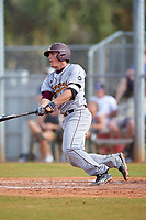 Central Michigan Chippewas second baseman Jason Sullivan (18) at bat during a game against the Boston College Eagles on March 8, 2016 at North Charlotte Regional Park in Port Charlotte, Florida.  Boston College defeated Central Michigan 9-3.  (Mike Janes/Four Seam Images)