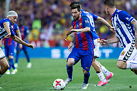Leo Messi of FC Barcelona during the match of  Copa del Rey (King's Cup) Final between Deportivo Alaves and FC Barcelona at Vicente Calderon Stadium in Madrid, May 27, 2017. Spain.. (ALTERPHOTOS/Rodrigo Jimenez) /NortePhoto.com