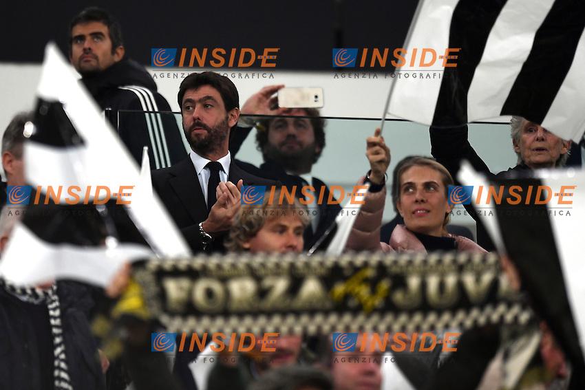 Andrea Agnelli Juventus President <br /> Torino 29-10-2016 Juventus Stadium Football Calcio Serie A 2016/2017 Juventus - Napoli . Foto Image Sport /  Insidefoto