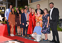 LOS ANGELES, CA. September 20, 2018: Carrie Underwood & Family at the Hollywood Walk of Fame Star Ceremony honoring singer Carrie Underwood.<br /> Pictures: Paul Smith/Featureflash