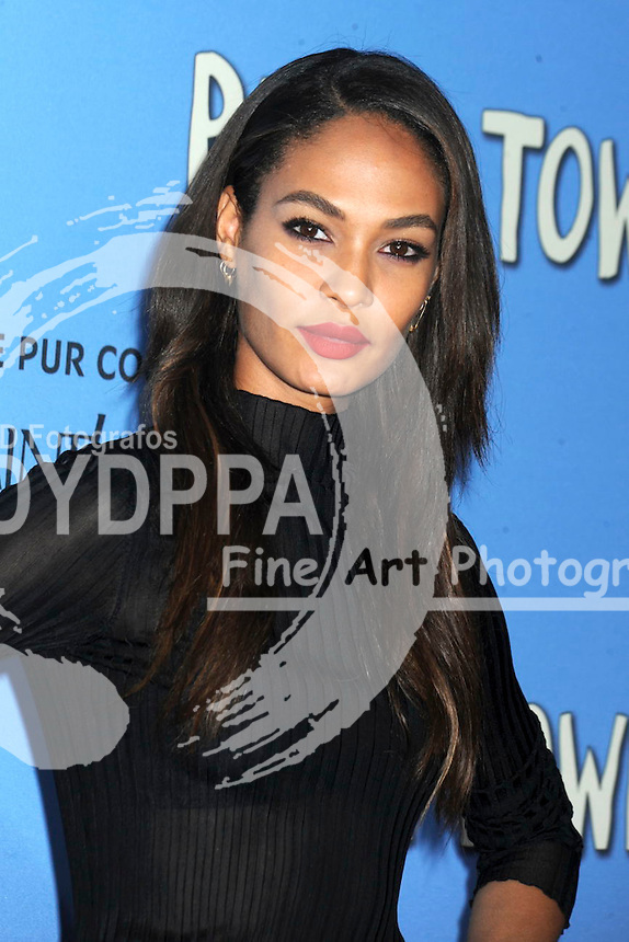 Joan Smalls attending the 'Paper Towns' premiere at AMC Loews Lincoln Square on July 21, 2015 in New York Cit
