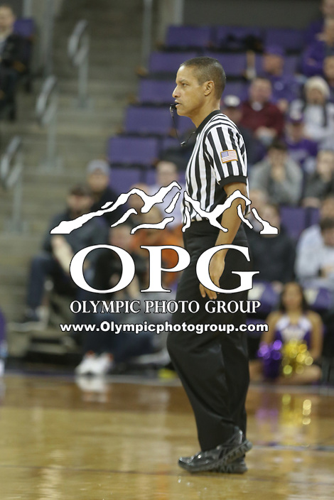 DEC 22, 2015:  NCAA basketball official Verne Harris was on hand for the game between Washington and Seattle University. Washington defeated Seattle University 79-68 at Alaska Airlines Arena in Seattle, WA.