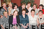 REUNION: Together again at the Neodata Reunion in the Arms Hotel, Listowel, on Friday.night were (seated l-r) Eleanor Fitzgerald and Mary Sheehan, Glin, Phil Gildea, Tarbert, Ann.Heaphy, Ballylongford, Geraldine Brosnan, Listowel, Eilish Enright, Glin, Margaret Moore and.Joan Maloney, Listowel. (Back l-r) Mags Healy, Listowel, Sal Walsh, Ballylongford, Margaret.Henchy, Listowel, Peg Collins, Abbeyfeale, and Mary ODonoghue, Listowel.