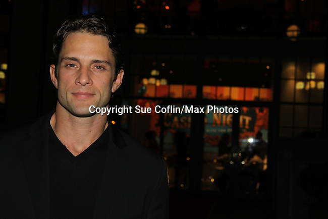 David Fumero attends ABC Daytime Soap Casino Night with the Stars on October 28, 2010 at Guastavinos, New York City, New York. (Photo by Sue Coflin/Max Photos)