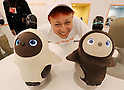 Robot LOVOT presentation in Tokyo