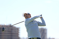 Felipe Aguilar (CHI) on the 2nd tee during Round 3 of the Open de Espana 2018 at Centro Nacional de Golf on Saturday 14th April 2018.<br /> Picture:  Thos Caffrey / www.golffile.ie<br /> <br /> All photo usage must carry mandatory copyright credit (&copy; Golffile | Thos Caffrey)