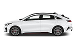 Car Driver side profile view of a 2019 KIA Proceed GT 5 Door Wagon Side View