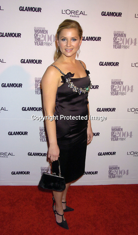 Jessica Capshaw ..at The 15th Annual Glamour Magazine Women of the Year Awards on November 8, 2004 at The American Museum  of Natural History in New York City. ..Photo by Robin Platzer, Twin Images