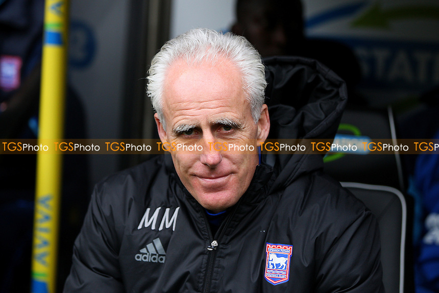 Ipswich Town manager Mick McCarthy during Norwich City vs Ipswich Town, Sky Bet EFL Championship Football at Carrow Road on 26th February 2017