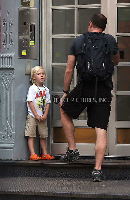 WWW.ACEPIXS.COM . . . . .  ....June 21 2011, New York City....Actor Liev Schreiber and his son Sasha walking in Soho on June 21 2011 in New York City....Please byline: PHILIP VAUGHAN - ACE PICTURES.... *** ***..Ace Pictures, Inc:  ..Philip Vaughan (212) 243-8787 or (646) 679 0430..e-mail: info@acepixs.com..web: http://www.acepixs.com