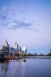 River view of Melbourne in Australia