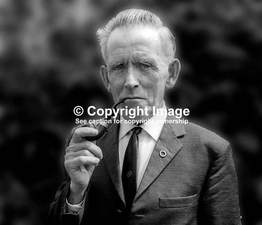 Patrick McGill, candidate, Nationalist Party, Mid-Ulster, N Ireland Assembly Election, 197306230444a. Previously he was a Nationalist senator in the old Northern Ireland Parliament.<br />