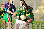 Paul Geaney Kerry v Seamus Bolton Kerry Limerick Institute Technology in the Quarter Final of the McGrath Cup at Austin Stack Park, Tralee on Sunday 16th January.