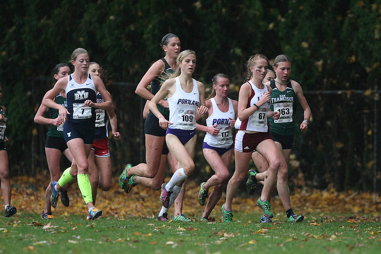 October  27, 2012; Portland, OR, USA; WCC Cross Country Championships at Fernhill Park.