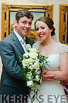 Karen Lenighan,daughter of John&Joan,Dromid and Denis O'Shea son of Tom&Mary,Dromid who married last Friday May 1st in Our Lady of the Valley church,Dromid by Fr John Kerins.Bestman was John O'Shea,groomsmen wren Eoin O'Leary,John Lenighan,&Kieran O'Sullivan.1st bridesmaid was Michelle Lenighan and others were Denise & Teresa Lenighan with Tea Tolk.Flowregirls Chloe&Laura Lenighan.Pageboy Aaron Lenighan.the reception was in the Ballyroe Hts hotel,Tralee and the couple will reside in Dromid