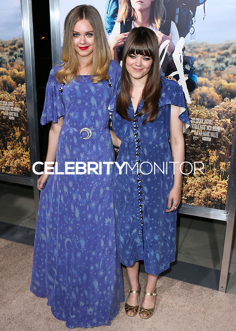 BEVERLY HILLS, CA, USA - NOVEMBER 19: Klara Soderberg, Johanna Soderberg, First Aid Kit arrive at the Los Angeles Premiere Of Fox Searchlight Pictures' 'Wild' held at the AMPAS Samuel Goldwyn Theater on November 19, 2014 in Beverly Hills, California, United States. (Photo by Xavier Collin/Celebrity Monitor)