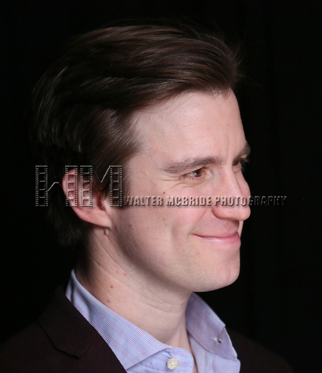 Gavin Creel attends the 2017 Tony Awards Meet The Nominees Press Junket at the Sofitel Hotel on May 3, 2017 in New York City.