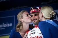 Stage winner Victor Campenaerts (BEL/Lotto Soudal) <br /> Baloise Belgium Tour 2019<br /> Stage 4: Seraing – Seraing 151.1km<br /> ©kramon