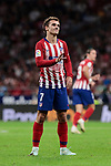 Atletico de Madrid's Antoine Griezmann during La Liga match between Atletico de Madrid and SD Huesca at Wanda Metropolitano Stadium in Madrid, Spain. September 25, 2018. (ALTERPHOTOS/A. Perez Meca)