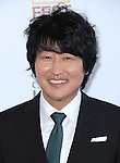 Song Kang Ho attends The LOS ANGELES FILM FESTIVAL Opening Night Gala: SNOWPIERCER held at Regal Cinemas  in Los Angeles, California on June 11,2014                                                                               © 2014 Hollywood Press Agency