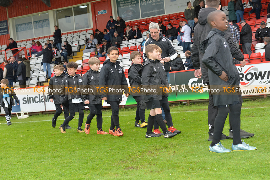 Young Stevenage Fans during Stevenage vs Exeter City, Sky Bet EFL League 2 Football at the Lamex Stadium on 28th April 2018