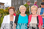 Sisters Eileen O'Connor, Laura O'Regan and Ann Cronin at the Pretty Polly reunion in the Malton on Sunday