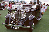 August 26th, 1984. 1933 Rolls-Royce PII Continental Gurney Nutting Coupe.
