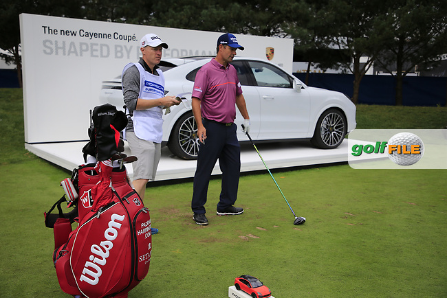 Padraig Harrington (IRL) during the Pro-Am at the  Porsche European Open, Green Eagles Golf Club, Luhdorf, Winsen, Germany. 04/09/2019.<br /> Picture Fran Caffrey / Golffile.ie<br /> <br /> All photo usage must carry mandatory copyright credit (© Golffile | Fran Caffrey)
