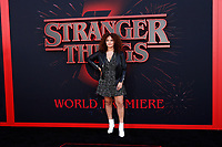 "LOS ANGELES - JUN 28:  Talia Jackson at the ""Stranger Things"" Season 3 World Premiere at the Santa Monica High School on June 28, 2019 in Santa Monica, CA"