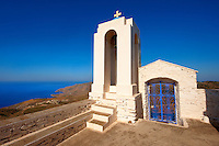 Bell tower of Agios Symios, kea, Greek Cyclades Island