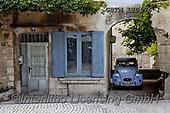 Tom Mackie, LANDSCAPES, LANDSCHAFTEN, PAISAJES, photos,+Blue Door, Blue Window & Blue Citroen 2CV, Saint Remy de Provence, France,Citroen 2CV, Europe, European, France, Provence, Sa+int Remy de Provence, blue, car, door, doors, horizontal, horizontals, house, window, windows+++,GBTM120176-1,#l#, EVERYDAY