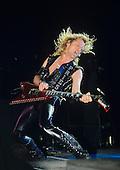 Judas Priest - guitarist KK downing - performing live on the Mercenaries of Metal Tour at the Rosemont Horizon in Chicago, Illinois.USA - Aug 24, 1988.  Photo credit: Gene Ambo/IconicPix