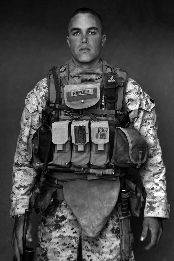 Cpl. Tyler Farmer, 24, Lake Stevens, Washington, Third Platoon, Kilo Co., 3rd Battalion 1st Marines, United States Marine Corps.