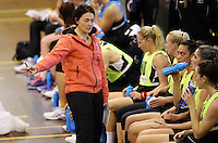 16.09.2016 Silver Ferns coach Janine Southby in action during traning ahead of the last Taini Jamison netball match between the Silver Ferns and Jamaica to be played in Rotorua. Mandatory Photo Credit ©Michael Bradley.