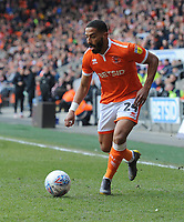 Blackpool's Liam Feeney<br /> <br /> Photographer Kevin Barnes/CameraSport<br /> <br /> The EFL Sky Bet League One - Blackpool v Peterborough United - Saturday 13th April 2019 - Bloomfield Road - Blackpool<br /> <br /> World Copyright &copy; 2019 CameraSport. All rights reserved. 43 Linden Ave. Countesthorpe. Leicester. England. LE8 5PG - Tel: +44 (0) 116 277 4147 - admin@camerasport.com - www.camerasport.com