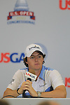 US Open 2011 Bethesda, MD. 18/6/11.Rory McIlroy (NIR) speaking after finishing hie third round of the USGA US OPEN at Congressional country club, Bethesda, Washington..Picture Fran Caffrey/www.golffile.ie