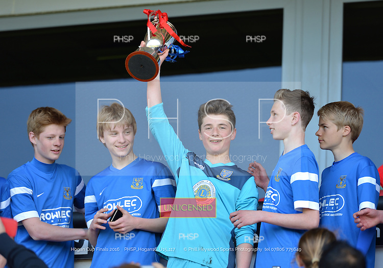 15/05/2016 Hogan Cup Final 2016 U-15's Clifton Rangers v Kirkham<br />
