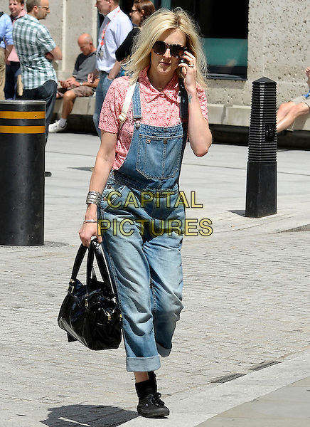 LONDON, ENGLAND - 17 JULY: Fearne Cotton leaving BBC Radio 1 on 17th July 2014 in London, England.<br /> CAP/IA<br /> &copy;Ian Allis/Capital Pictures