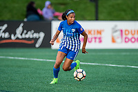 Boston, MA - Sunday September 10, 2017: Margaret Purce during a regular season National Women's Soccer League (NWSL) match between the Boston Breakers and Portland Thorns FC at Jordan Field.