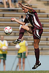 12 September 2009: Texas A&M's Amber Gnatzig. The University of North Carolina Tar Heels defeated the Texas A&M University Aggies 2-0 at Fetzer Field in Chapel Hill, North Carolina in an NCAA Division I Women's college soccer game.