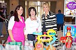 Rebecca Roche Mothercare, Melenie O'Sullivan Radio Kerry and  and Maria Mansfield, Mothercare at the Radio Kerry Lifestyle expo at the Carlton Hotel, Tralee on Sunday.