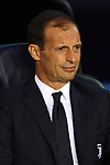 UEFA Champions League 2017/2018 - Matchday 1.<br /> FC Barcelona vs Juventus Football Club: 3-0.<br /> Massimiliano Allegri.