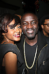 "Sonyae Elise and Akon Attend BET's Music Matters ""Best of 2012"" Holiday Showcase At S.O.Bs, NY   12/11/12"